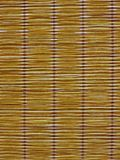 Beige bamboo curtain texture background. Beige bamboo curtain texture useful as a background Stock Image