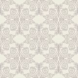 Beige baroque pattern Royalty Free Stock Images