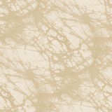 Beige batik fabric texture - abstract seamless background Stock Image