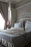 Beige bedroom Royalty Free Stock Images