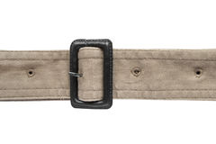 Beige belt Royalty Free Stock Photography