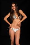 Beige bikini Royalty Free Stock Photo