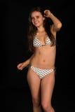 Beige bikini Royalty Free Stock Photos
