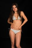 Beige bikini Royalty Free Stock Images