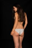 Beige bikini Stock Image