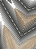 Beige and black textile striped wallpaper backgrou Stock Image