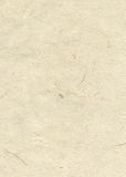 Beige blank hand-made textured paper Royalty Free Stock Image