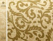 beige blom- seamless för backgroung Fotografering för Bildbyråer
