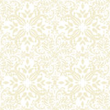 beige blom- upprepning Royaltyfria Bilder