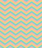 Beige and blue chevron seamless pattern background. Bright beige and blue chevron seamless pattern background vector Royalty Free Stock Photo