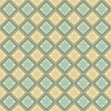 Beige and blue flower pattern Stock Photography