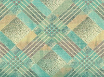 Beige and blue gentle tartan. Stock Images