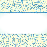 Beige and blue hand-drawn lines background Royalty Free Stock Image
