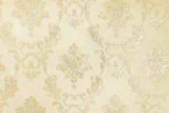Beige botanical wallpaper background Stock Photography