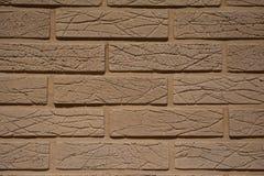 Beige brick Royalty Free Stock Image