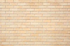 Beige bricks tiled wall texture background. High detailed Royalty Free Stock Images