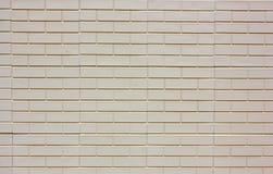 Beige brickwork rectangular bright texture background Royalty Free Stock Photo
