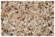 Beige and brown abstract polygonal background texture Royalty Free Stock Images