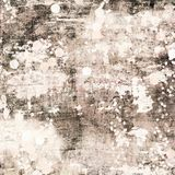 Beige and Brown  Antique shabby chic grungy abstract painted background distressed texture Royalty Free Stock Photos
