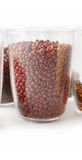 Beige and brown beads Stock Photo