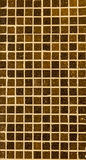 Beige and brown wall tiles Stock Image