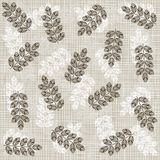 Beige brown white messy leaves Royalty Free Stock Photography