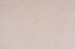Beige canvas cotton fabric texture. Royalty Free Stock Photos