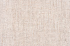 Beige canvas cotton fabric texture. Royalty Free Stock Images