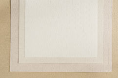 Beige canvas texture paper background Royalty Free Stock Images
