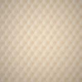 Beige Capitone-Polsterungs-Muster Lizenzfreie Stockfotos
