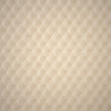 Beige Capitone Upholstery Pattern Royalty Free Stock Photos