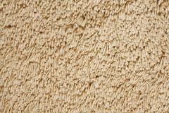 A beige carpet texture Royalty Free Stock Images