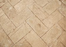 Beige ceramic tile Royalty Free Stock Photo