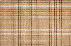 Beige check plaid pattern Stock Photos