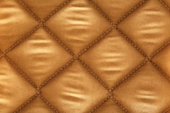 Beige checkered fabric Stock Photos