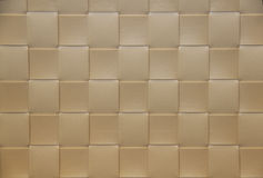 Beige checkered Placemat, texture Stock Photos