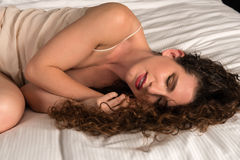 Beige chemise Royalty Free Stock Photography