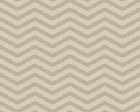 Beige Chevron Zigzag Textured Fabric Pattern Background Stock Image