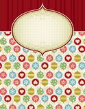 Beige christmas background,  Stock Photo