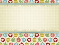 Beige christmas background,  Royalty Free Stock Images