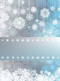 Beige christmas background. EPS 8 Stock Photography