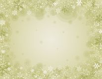Beige christmas background,  illustration Royalty Free Stock Photos
