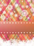 Beige christmas with christmas snowflake. EPS 8 Stock Image