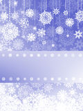 Beige christmas with christmas snowflake. EPS 8 Royalty Free Stock Photography