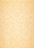 Beige classic flower pattern wallpaper background Stock Images