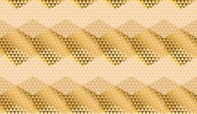 Beige color geometric textured seamless pattern. For background, wrapping paper, fabric, surface design. Pastel classic repeatable motif in Italian style royalty free illustration