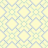 Beige colored geometric seamless pattern. Pale background. For wallpapers, textile and fabrics Royalty Free Stock Photo