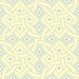 Beige colored geometric seamless pattern. Pale background. For wallpapers, textile and fabrics Royalty Free Stock Photography