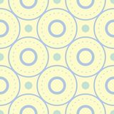 Beige colored geometric seamless pattern. Pale background. For wallpapers, textile and fabrics Stock Photos