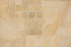 Beige colored tiles close up royalty free stock image